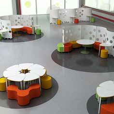 I think the screens are interesting in terms of creating privacy Agile modular desk and screening solution Classroom Furniture, Library Furniture, School Furniture, Modular Furniture, Modular Table, Furniture Online, Bedroom Furniture, School Library Design, Kids Library