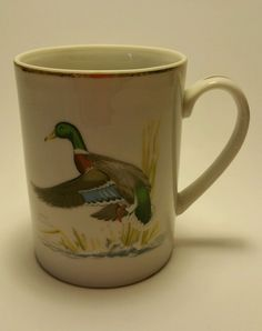 1979 Rubel Coffee Tea Cup Mug Ned Smith Waterfowl Duck Vintage in Collectibles, Decorative Collectibles, Mugs, Cups | eBay