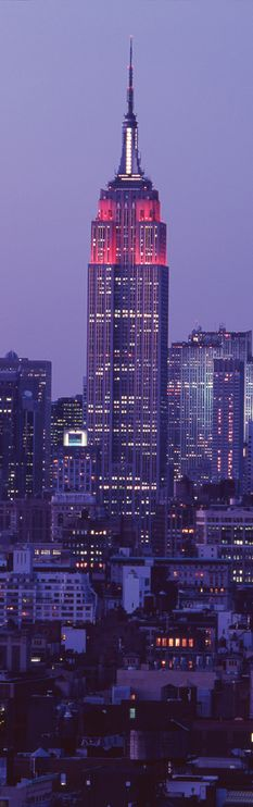 Nightfall in New York - Future home of Viceroy New York, opening September!