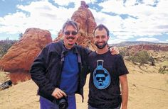 Full Sail graduate Seth Rems worked on season 5 of AMC's Breaking Bad. (Left, show creator Vince Gilligan, right Seth Rems). #BreakingBad