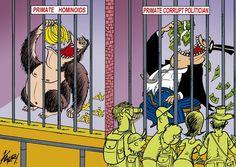 Primates… Cartoon by Julio Cueva: http://www.cartoonmovement.com/cartoon/30650