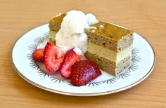 Gluten free Coconut Cream Layer Cake from Real Food Forager