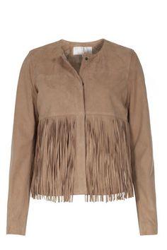 OAKWOOD Velourslederjacke INES bei myClassico - Premium Fashion Online Shop