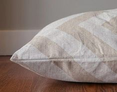 Chevron Dog Bed Cover Oatmeal and Natural Pet Bed by thefoggydog   Disneyland Xl Dog Beds 628a54af308b