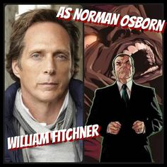 So William Fichtner as Norman Osborn. It's time to bring back one of the biggest Spider-Man villains the Green Goblin. Fichtner is a very underrated actor and he's very talented especially when playing the villain.  Another possible choice I was considering was Ben Mendelsohn but he will be the main adversary in 2019's Captain Marvel     #film #movie #tvshow #cinema #actor #actress #performance #fancast #williamfichtner #normanosborn #willamdafoe #chriscooper #spiderman #greengoblin…