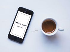 This freebie is a iPhone mockup with a coffee cup that can be used to showcase your apps or use as a hero image for your website. Free Photoshop Mockups, Free Iphone, App Development, Mobile App, Coffee Cups, Web Design, Apple Iphone, Designers, Apps