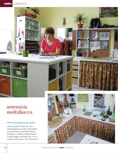 Tour my sewing room