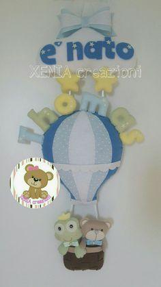 https://www.facebook.com/XENIA-creazioni-1413280015640861/ FIOCCO NASCITA PERSONALIZZABILE. Per informazioni visitate la mia pagina Facebook