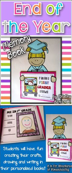 End of the Year Memory Books!