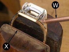 [Ganoksin] Jewelry Making - Making a Yellow Gold and Platinum Ring