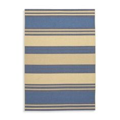 Couristan® Five Seasons Collection South Padre Indoor/Outdoor Rugs in Blue/Cream - BedBathandBeyond.com