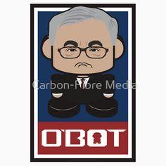 Barney Frank Politico'bot Toy Robot 2.0 || #barney #frank #barneyfrank #toy #robot #politics #cute #chibi #kawaii #spreadlove #politicobots #gift #junkie