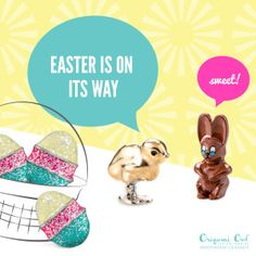 3 new charms added to JudyRichardson.origamiowl.com Easter Collection 2016. To see everything available and order go to my site!