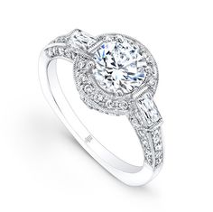 www.diamondconnectiononline.com Call today to order 6192968900 #EngagementRing by: #BeverlyK Style: R1180(A)-D,D,M HALO