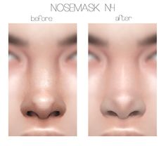 NOSE MASK N 4 & 5 (...) Obscurus-Sims