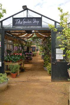 Garden, Garden shop, Greenhouse, Garden center displays, Garden nursery, Greenhouse gardening - Petersham Nurseries Richmond Surrey   Victoria Skoglund -  #Garden