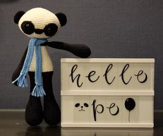 We had to bid farewell to Po over the weekend and we are still feeling so sad as it was such a short Hello. But Po left us an important message  Your real strength comes from being your best you! Have a great week ahead and we hope the birthday boy will love his new panda! #pothepanda #po  #mctreasurehouse #amigurumidoll #amigurumi #amigurumicrochet #yarn #crochetersofinstagram #handmade #crochettoys #crochetdolls #yarnlove #instacrochet #yarnaddict #amigurumilove #ilovecrochet #kawaii…