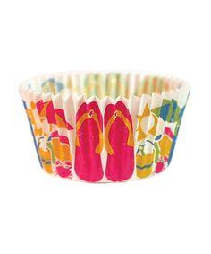 Flip Flop Cupcake Liner - Set of 32