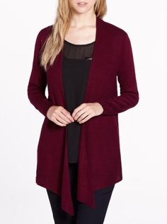 Long Sleeve Open Cardi Online Shopping For Women, Style And Grace, Long Sleeve, Womens Fashion, Sweaters, How To Wear, Beauty, Fall, Ideas