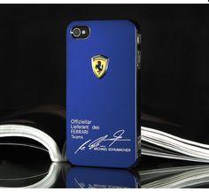 Ferrari 3D Hard metal Case Schutzhülle für iPhone 4/4S/5/5S - Prima-Module.Com