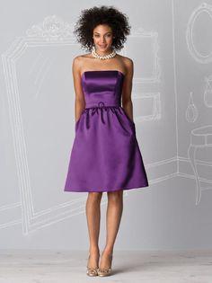 After Six Bridesmaids Style 6600    Fabric: Matte Satin