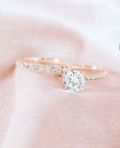 Moissanite Engagement Ring white gold Unique Engagement Ring Vintage Diamond Wedding Twisted Bridal set Stacking Anniversary Gift for Women - Fine Jewelry Ideas Unusual Wedding Rings, Stacked Wedding Rings, Wedding Rings For Women, Unique Rings, Wedding Ring Bands, Trendy Wedding, Luxury Wedding, Destination Wedding, Dream Wedding