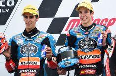 Rins, Alex Marquez, Dutch Moto3 Race 2014