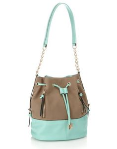 Pastel Colourblock Duffle by Accessorize