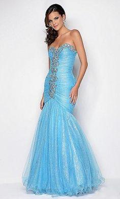 Homecoming Dresses#Blue Dress#Elegant
