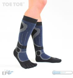 They are probably the most comfortable socks you have ever worn. Toe Socks, Skiing, Sports, Blue, Fashion, Ski, Hs Sports, Moda, Fashion Styles