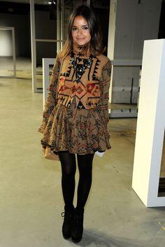 Mujeres rusas iconos de moda: Miroslava Duma