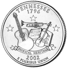 Tennessee. Jeff and I have a story about this quarter. It makes me happy every time I see one!
