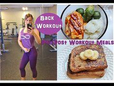What to Eat Pre & Post Workout Vegan | Back Workout | Vegan Fitness | Macros | IIFYM | Vegan Bikini Competitor | www.HollyBrownFit.com