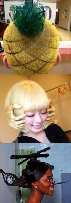 25 craziest haircuts & shaves of all time #funnyPics #lol #funny #FunnyPictures #humor #hilarious #haircut #Crazy