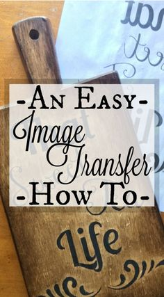 How to do an EASY Image Transfer!!