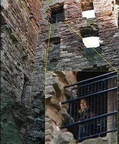 "Tantallon Castle, Scotland. The ""Most Convincing Real Ghost Photo of all times shot at Tantallon Castle of Scotland"" that won the contest. (fact checked this)"