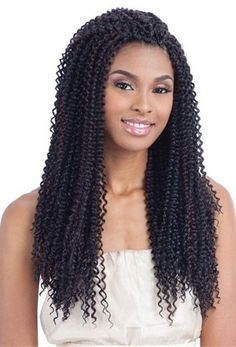Crochet Box Braids Model Model : Model Model Glance Braid LONG MEDIUM BOX BRAID (Crochet & Latch Hook ...