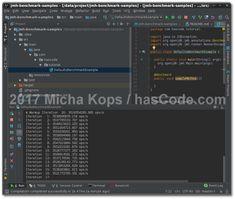Java JMH Microbenchmarks running in IntelliJ