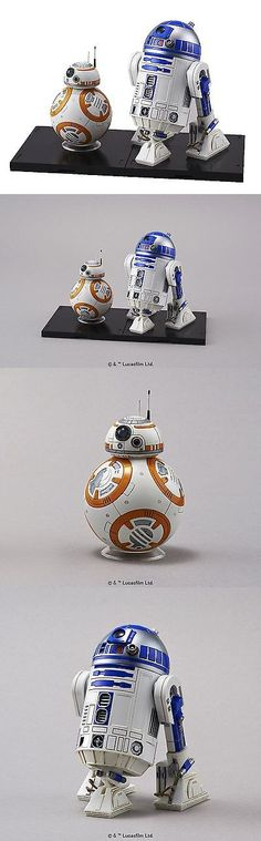 Star Wars 49212: Star Wars Bb-8 And R2-D2 1 12 Scale Plastic Model New -> BUY IT NOW ONLY: $31.26 on eBay!