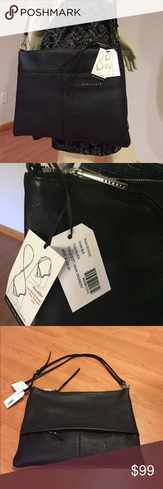 """Genuine leather Crossbody/shoulder convertible Beautiful crossbody / shoulder bag from Sanctuary. Soft genuine leather.check my closet for """" free with purchase """" entries. You can add up to 3 of them to this item!  Sanctuary Bags Crossbody Bags"""