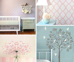 nursery stencils diy
