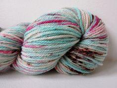 Worsted 100 Superwash Merino Hand dyed Yarn  by CakewalkYarns, $23.00