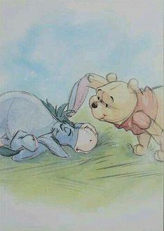 I-aah und Winnie Pooh