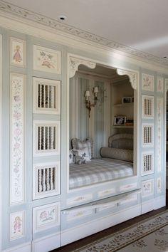 Hideaway children's bed