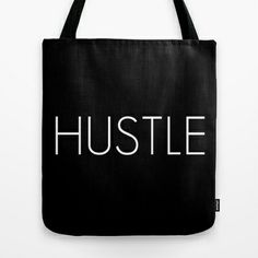 HUSTLE Tote Bag by Society6 Cornell - $22.00