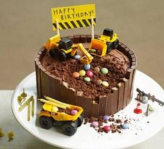 Image result for digger cake