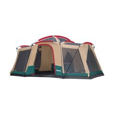 Walmart Gigatent Kinsman x Cabin Tent Sleeps 8  sc 1 st  Pinterest & Ozark Trail 8 Person 2 Room Instant Cabin Tent | Camping ...