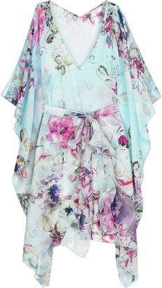 ShopStyle: Emamó Aurora silk kaftan
