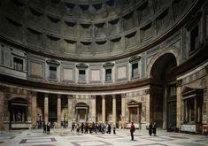 Pantheon, Rome (1990) by Thomas Struth