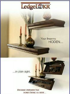 Gun storage! #gun #storage #decoration